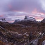 Stigbotthornet, Storgrovfjellet and Bispen mountain rise above Alnesvatnet, Norway – Landscape Photography