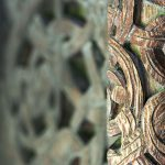 Borgung, Stabkirche, Stave Church, Carvings, Detail, Norway – Landscape Photography