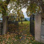 Nes kirke, graveyard, Randsfjorden, Norway – Landscape Photography