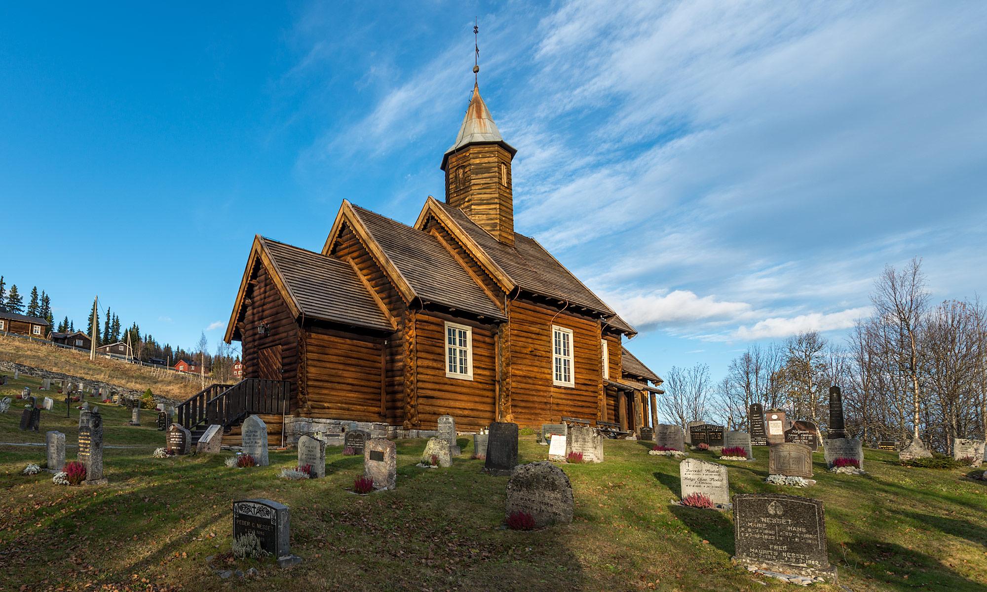 Sollia kirke, church, Sollia, Norway – Landscape Photography