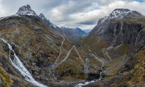 Trollsigen road and Bispen mountain, Norway – Landscape Photography