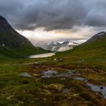 Cloudy sunset in Vengedalen near Åndalsnes, Norway – Landscape Photography
