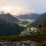 Romsdalen, Åndalsnes – View from Litlefjellet, Norway – Landscape Photography